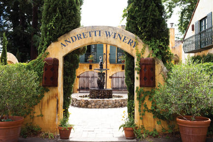 Andretti Winery in Napa