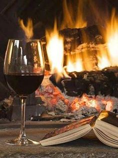 wine fire book